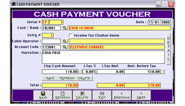 Accounting Software for Cable Operators