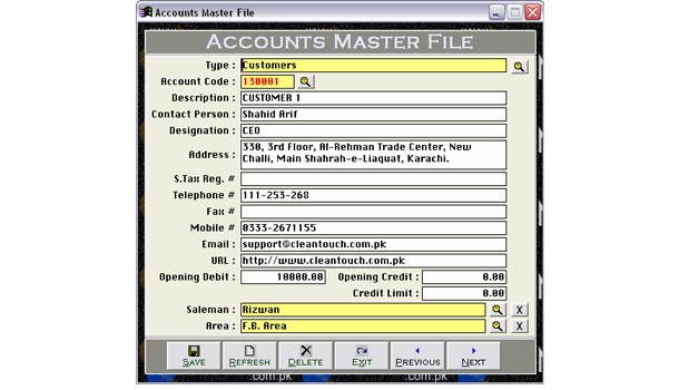 Accounting Software for Medicine Distributors