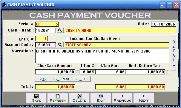 Doc600600 Cash Payment Receipt Form Download a Free Cash – Receipt for Cash Payment