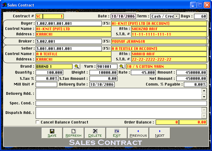 Cleantouch Multi Level Yarn Trading