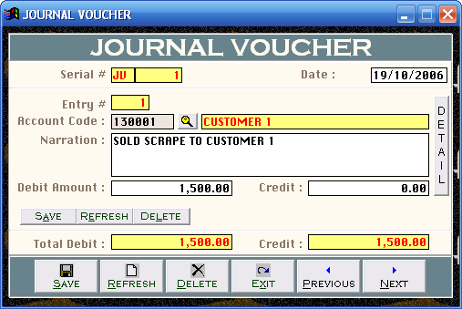 Voucher trading system