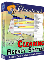 Cleantouch Advance Clearing Agency Software