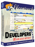 Cleantouch Developers Management System
