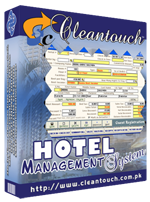 Cleantouch Hotel Management System