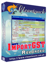 Cleantouch ImportGST Reloaded