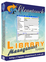 Cleantouch Library Management System