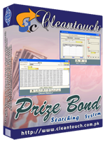 Cleantouch Prize Bond Searching Software